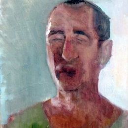 Alex ,25x35,Oil on canvas,2011