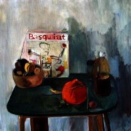 Basquiat, 60x60, Oil on Canvas, 2010