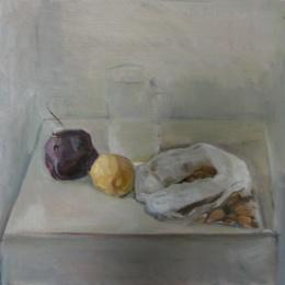 Elmonds, 35x35, Oil on Canvas, 2009