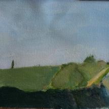Italy, 32.5x24, Oil on canvas, 2010