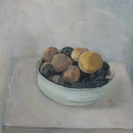 Lemons, 32x34.5, Oil on Canvas, 2008