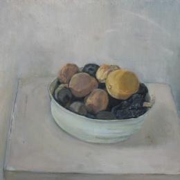 Lemons, 32x34.5, Oil on Canvas, 2008