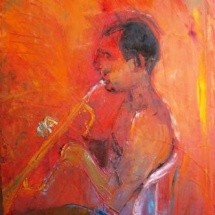 Red Alex, 60x80, Oil on Canvas, 2009