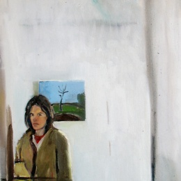 Self Portrait, 50x60, Oil on Canvas, 2007
