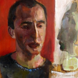 Self Portrait, 84x84, Oil on Canvas, 2007