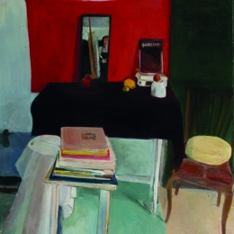 The Studio, 90x101, Oil on Canvas, 2003